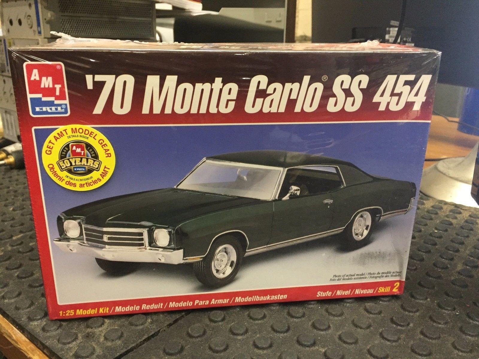 AMT ERTL 70 Monte Carlo SS 454 1 25 8271 Model cars