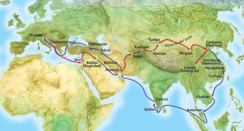 TOUCH questa immagine: I viaggi di Marco Polo by Marilena Ferraro