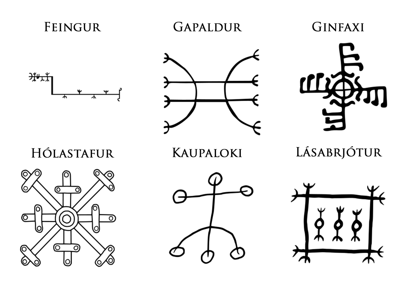 Icelandic magical staves are symbols credited with magical effect icelandic magical staves are symbols credited with magical effect the effects credited to most of buycottarizona Choice Image