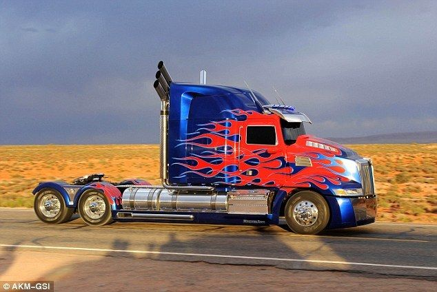 Optimus Prime Got A Facelift In Time For Transformers 4 With