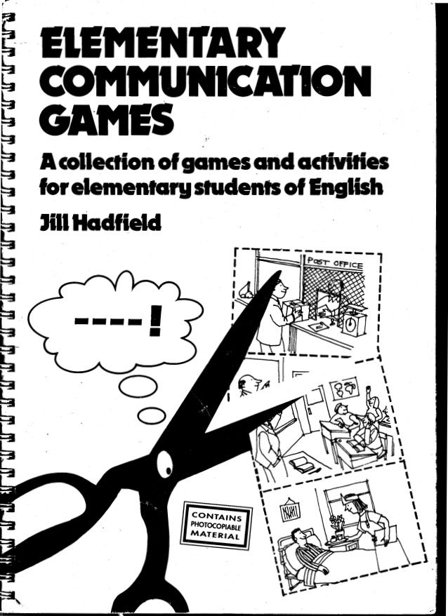 elementary communication games- saved on dropbox | Classes