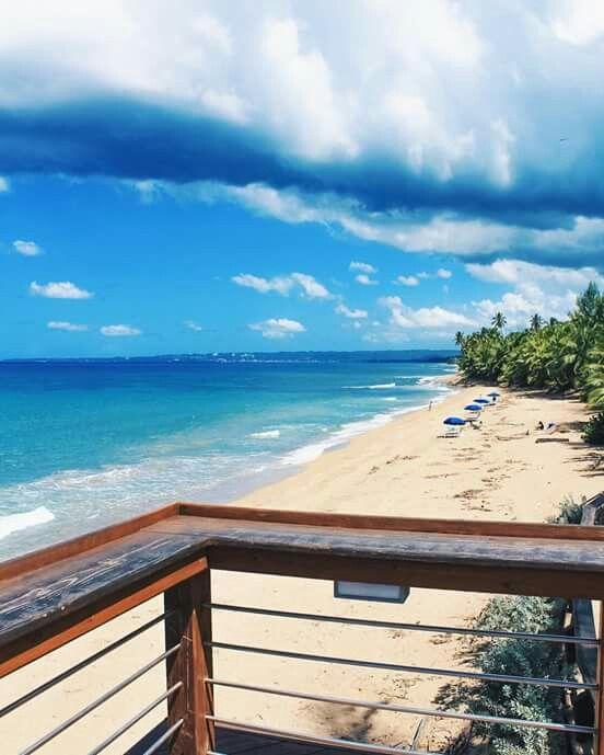 Sandy Beach Rincón Puerto Rican