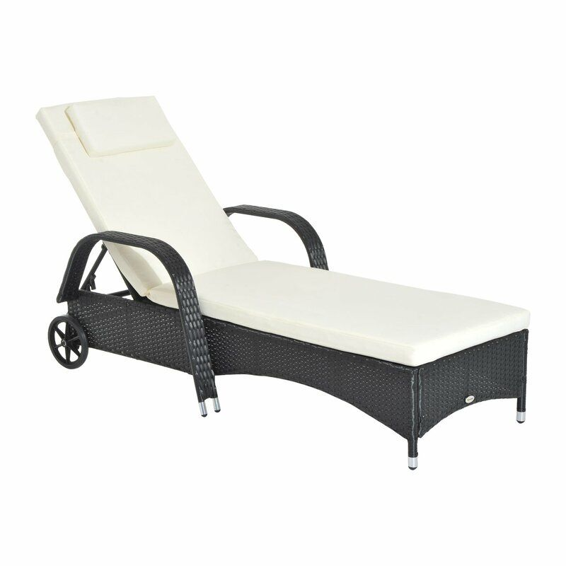 Outstanding Ridgevale Reclining Sun Lounger With Cushion Garden Sun Cjindustries Chair Design For Home Cjindustriesco