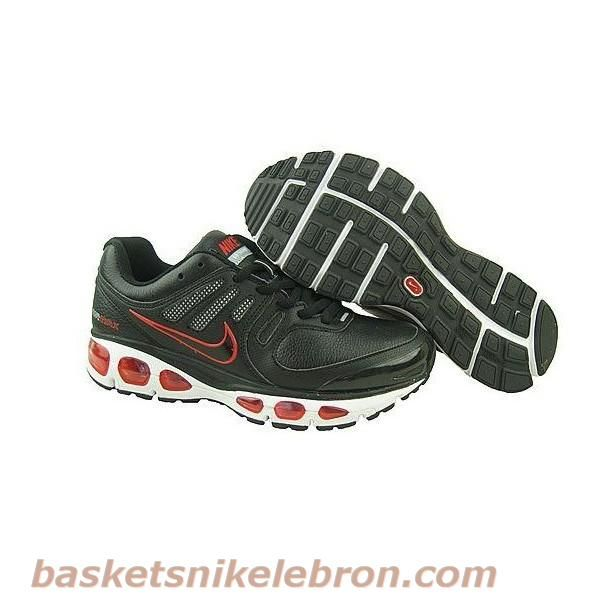 info pour e55ff a0f0c Nike Air 2010 en cuir noir rouge blanc Max Air Max Homme ...