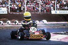 Ayrton Senna – começou aos 13 anos, a competir oficialmente , em provas de kart .