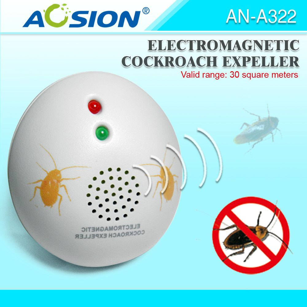 AOSION Indoor cockroach repeller electromagnetic waves to repel ...