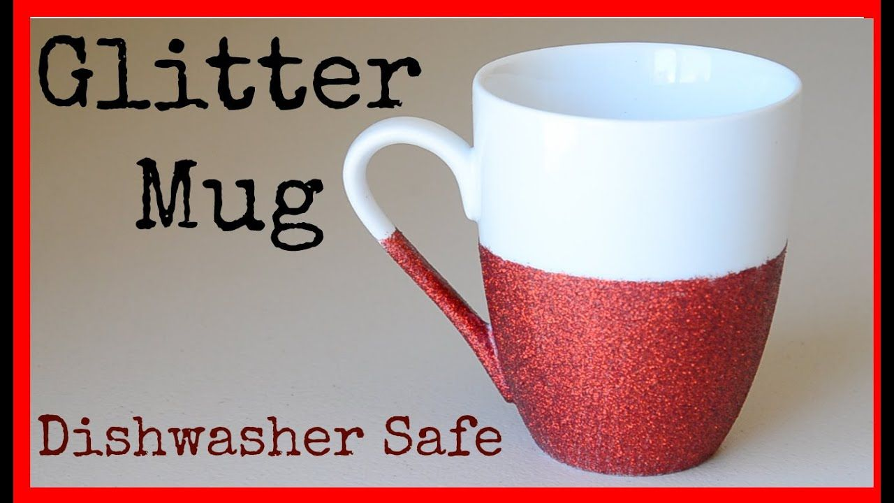 Diy How To Make A Glitter Mug Dishwasher Safe Ali Coultas