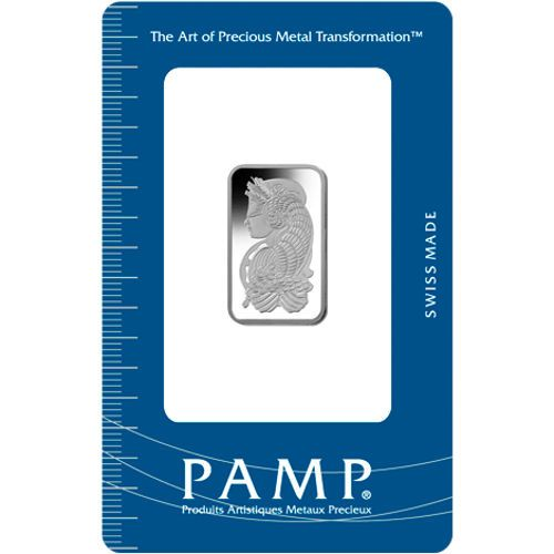 10 Gram Pamp Suisse Fortuna Palladium Bar New W Assay Gold Bar Fortuna Palladium
