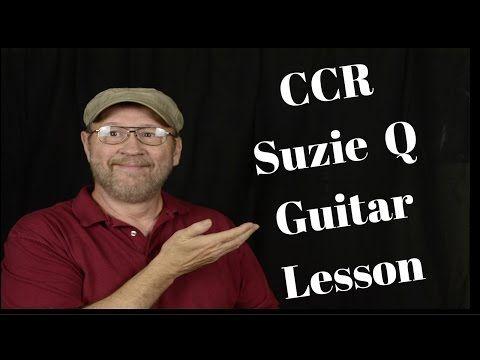 How To: Suzie Q Guitar Lesson - YouTube | Guitar | Pinterest ...