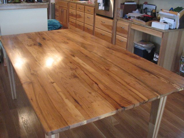 Hickory wood for a table top  Beautiful. Hickory wood for a table top  Beautiful    Build Me      Pinterest