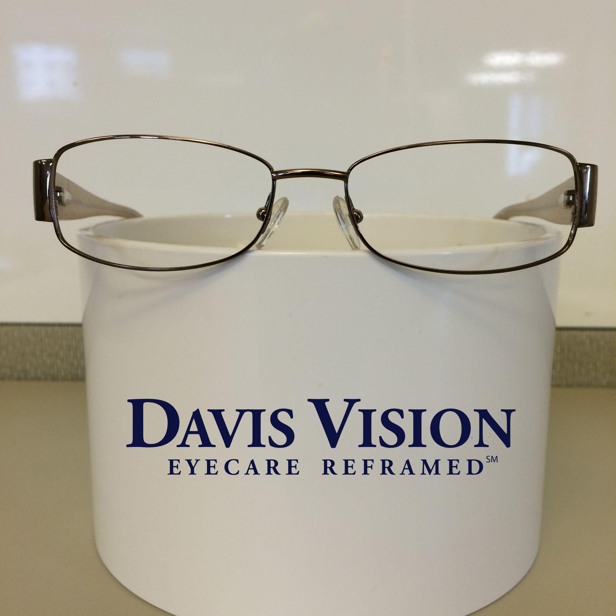 Davis vision frames emphasized fun fashion trends