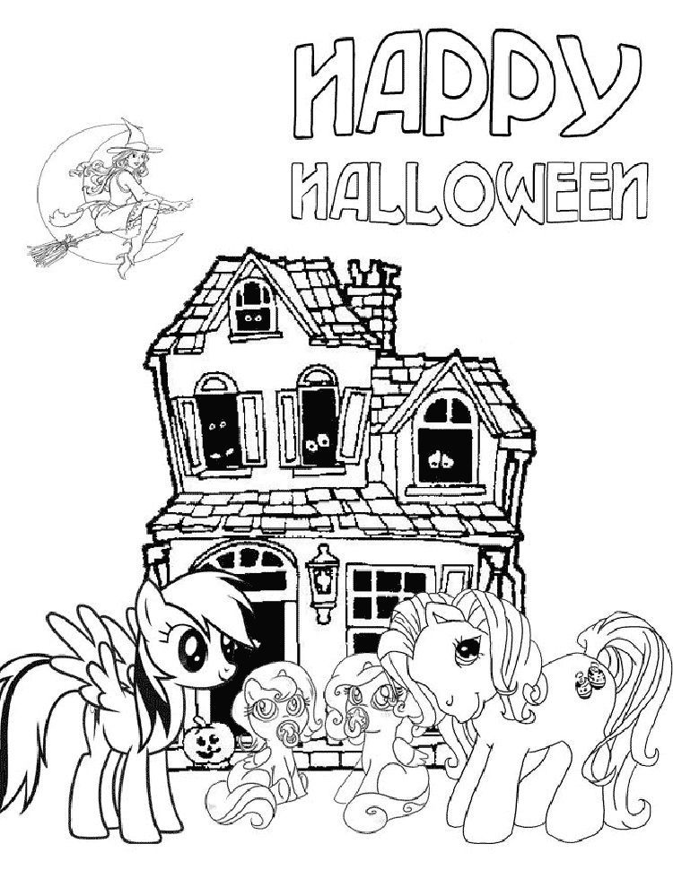 My Little Pony Halloween Coloring Sheets Halloween Coloring Halloween Coloring Pages My Little Pony Coloring