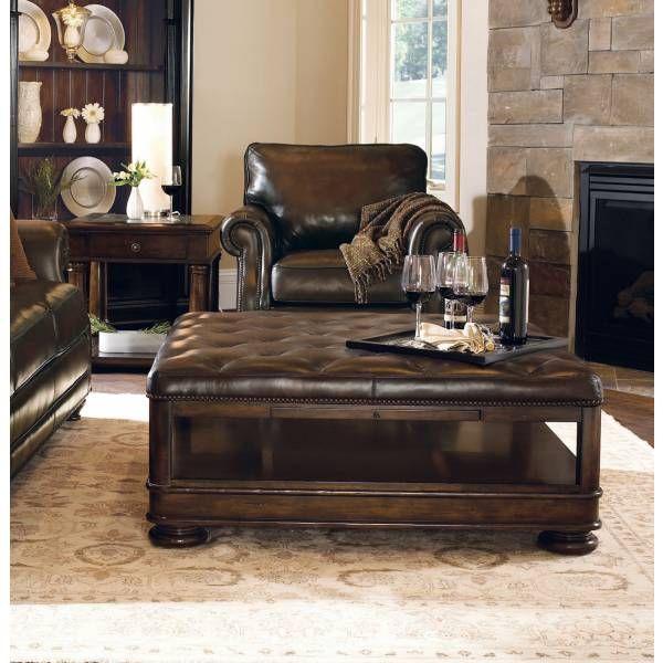 Normandie Manor Leather Cocktail Ottoman Bernhardt Star Furniture Houston Tx Furniture S Mattress Furniture Houston Furniture Leather Cocktail Ottoman