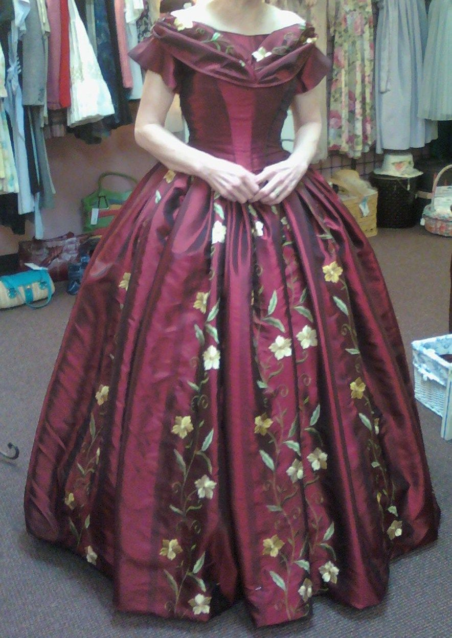 another one of my favorites! | Civil War dresses I`ve made ...