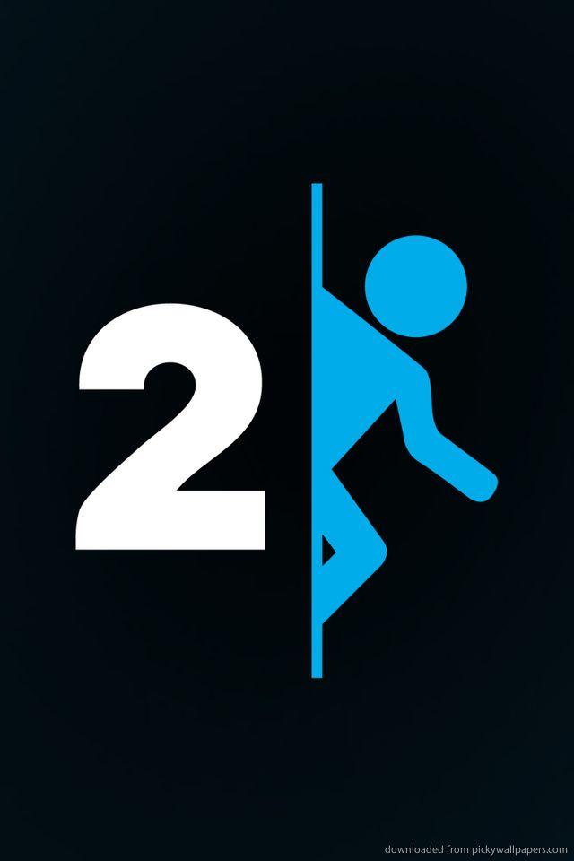 Portal 2 Logo Portal Wallpaper Portal 2 Portal Game