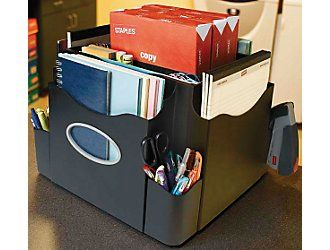 Charmant     Staples® The Desk Apprentice™ Rotating Desk Organizer | Staples®