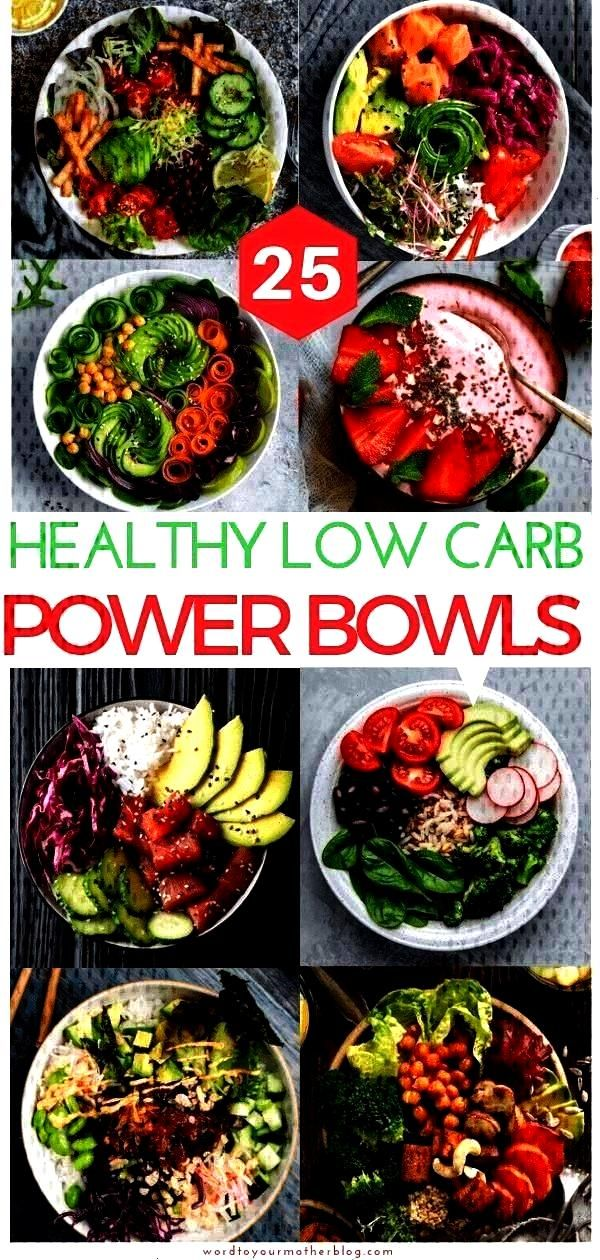 carb power bowls to add to your weekly keto meal preparation - new ideas -  their Instawürdige   -