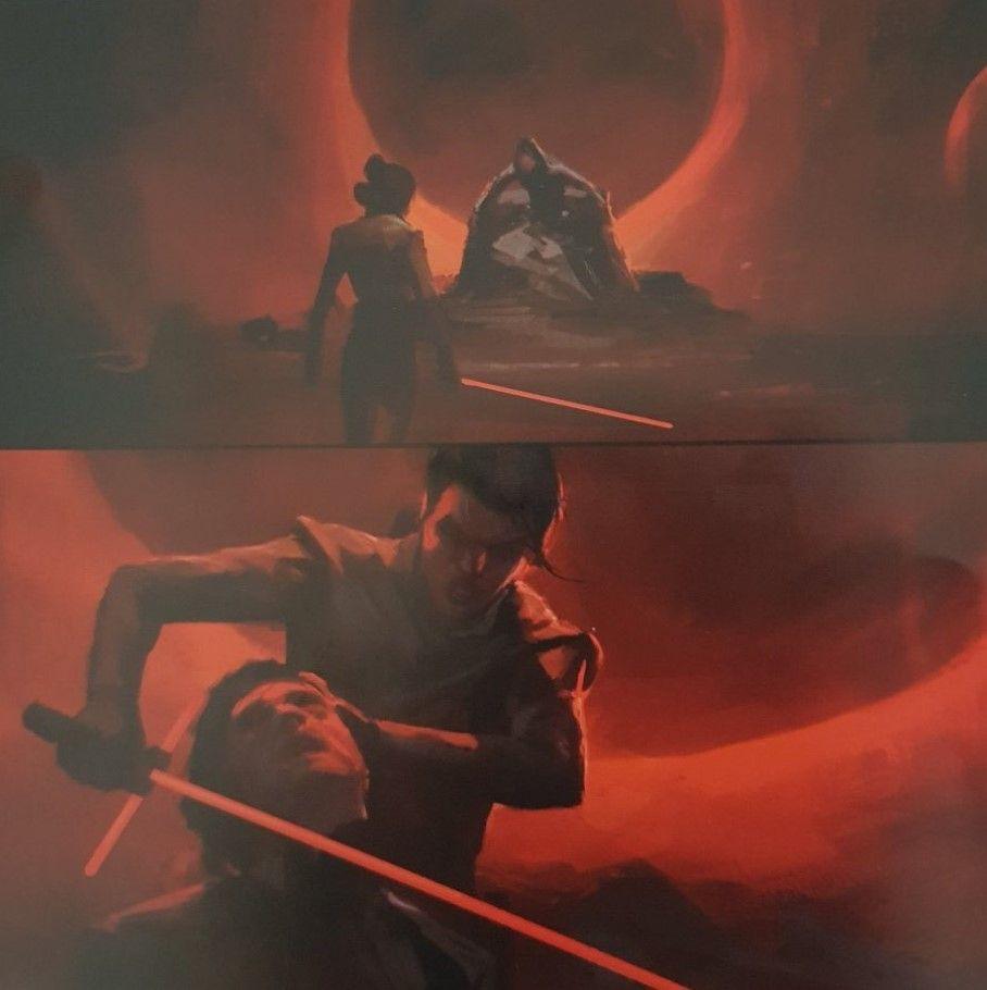 Star Wars Episode Ix The Rise Of Skywalker New Conceptual Art In 2020 Star Wars Concept Art Star Wars Art Drawings Vintage Star Wars Art