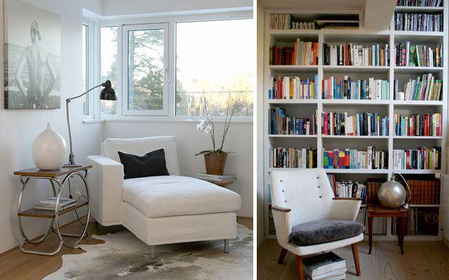 Ideas para decorar el rincón de lectura My reading corner - rincon de lectura