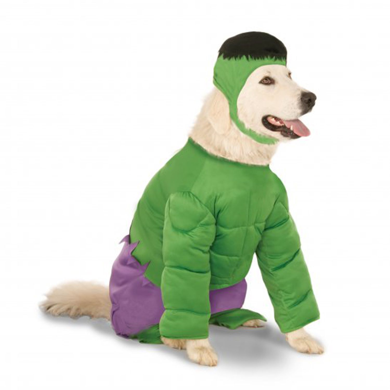 Big Dog Marvel Incredible Hulk Dog Costume Pet Costumes Dog