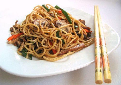 طريقة عمل نودلز صيني Recipe Recipes Food Obsession Food