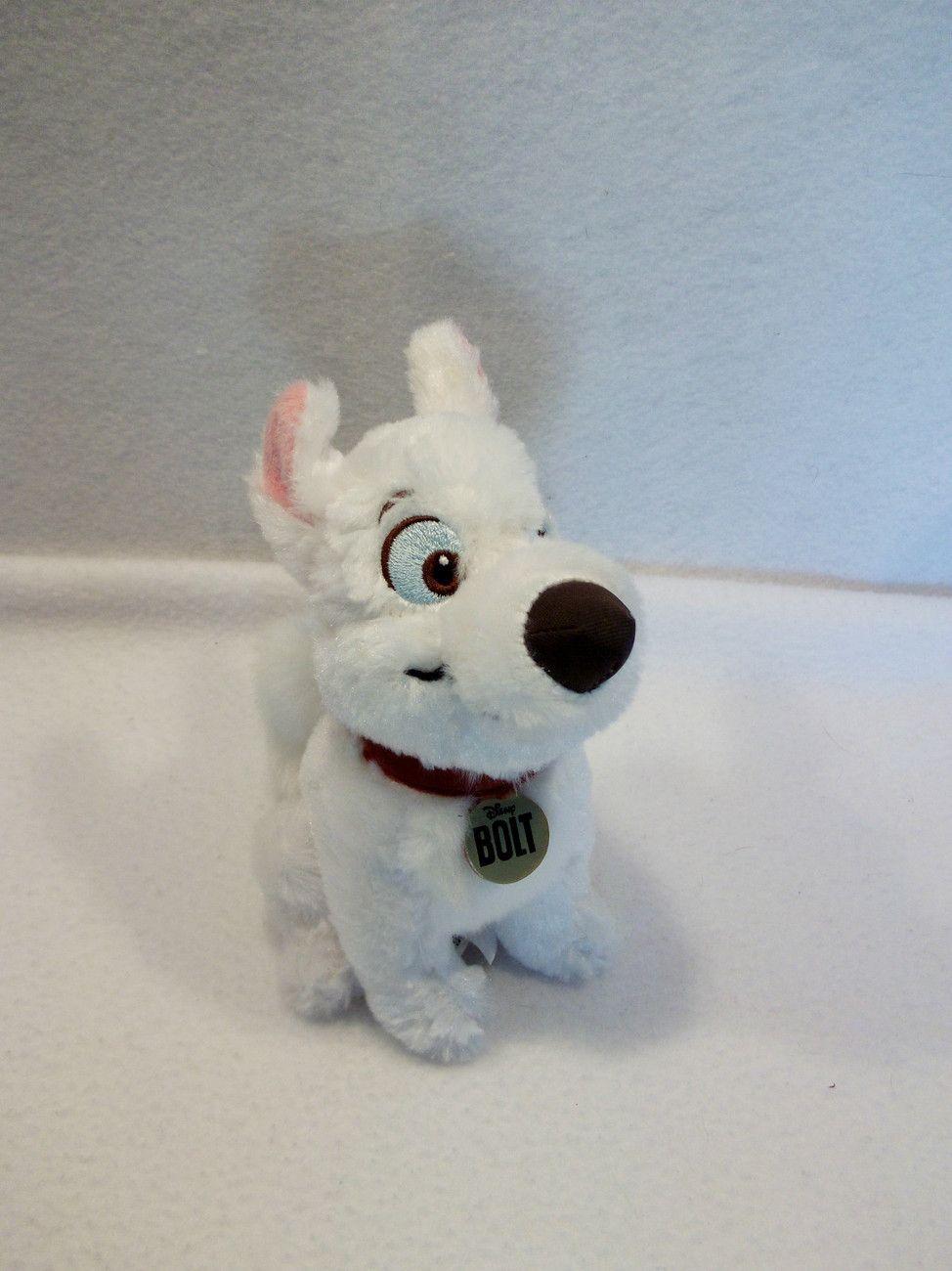 Walt Disney Bolt Super Dog Puppy 7 Plush Toy I Want This Me