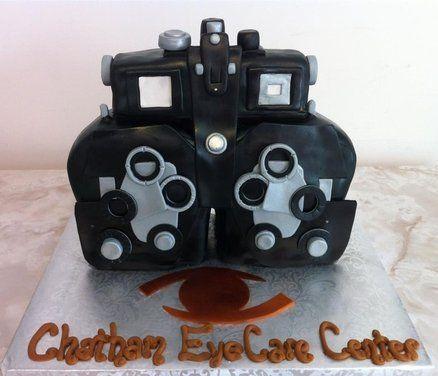 Cool Phoropter Cake!