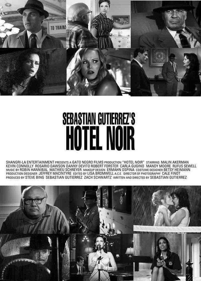 Hotel Noir (2012) Carla gugino, Classic film noir