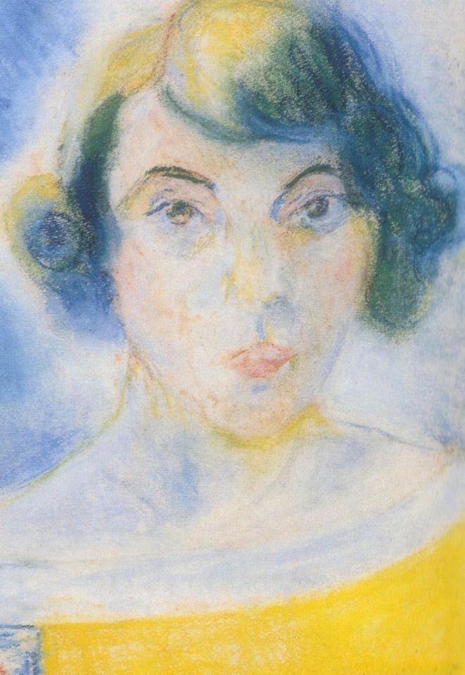 Auto Retrato Anita Malfatti 1922 Arte Moderna Brasileira