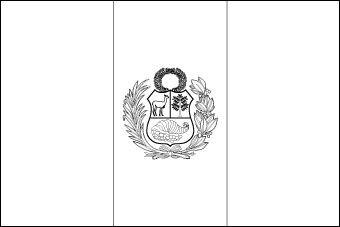 Blank Flag Of Peru To Color Other Blank Flags Available Too