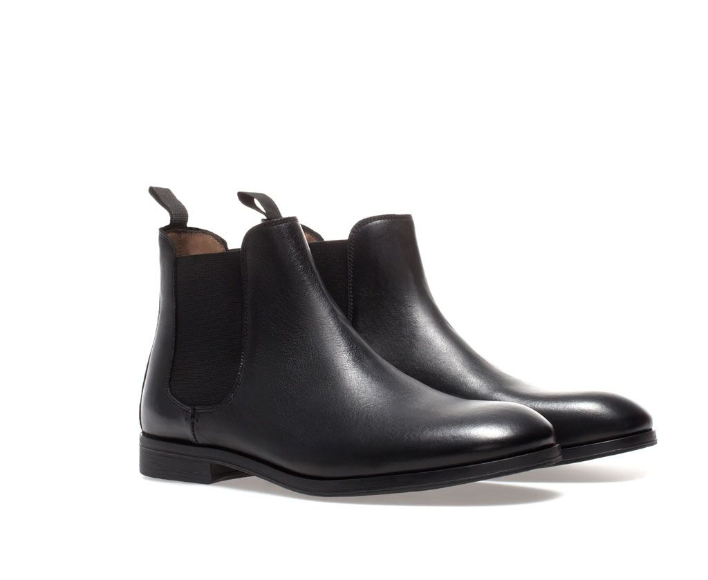 984d69d3b5a Image 4 of STRETCH ANKLE BOOT from Zara