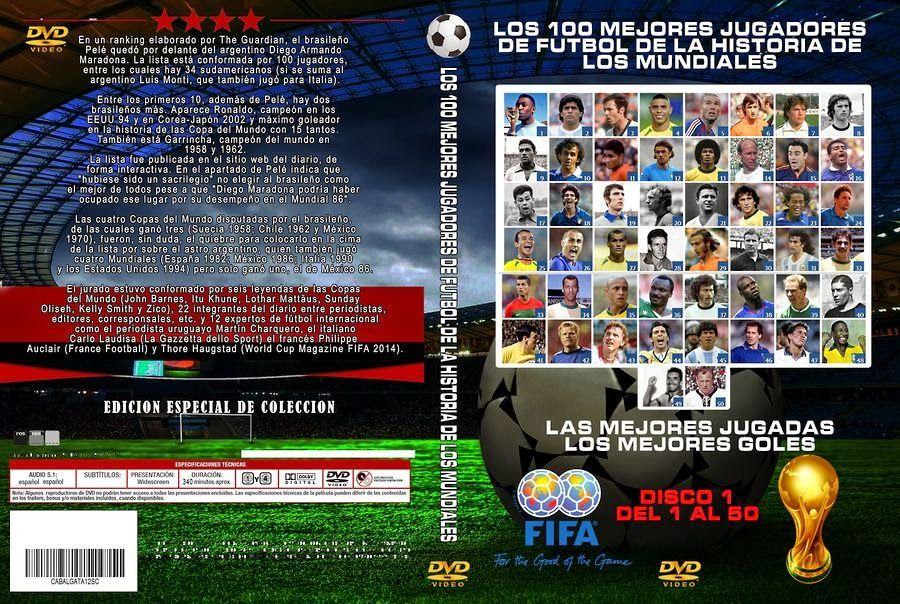 Los 100 Mejores Jugadores de la Historia de los Mundiales (Disco 1) [NTSC/DVDR-Custom] Ingles, Español Latino FusionDescargas Up