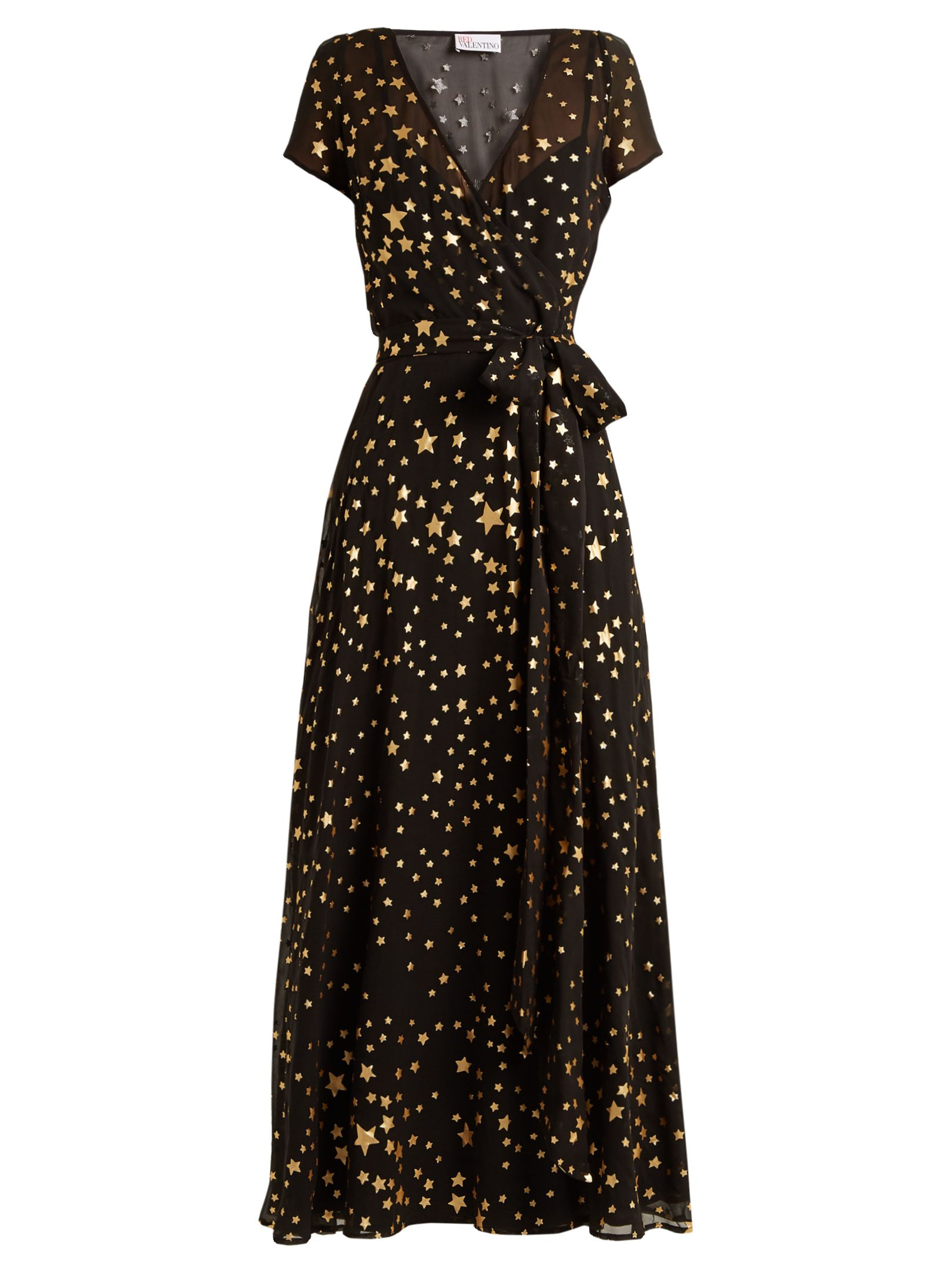 3b46dd0a03f Star-print maxi dress