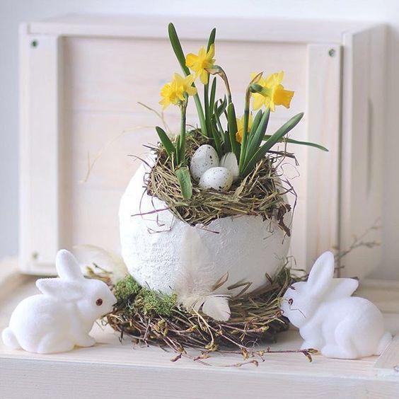 Stroiki Wielkanocne – TOP 20 Ciekawych Inspiracji na Święta