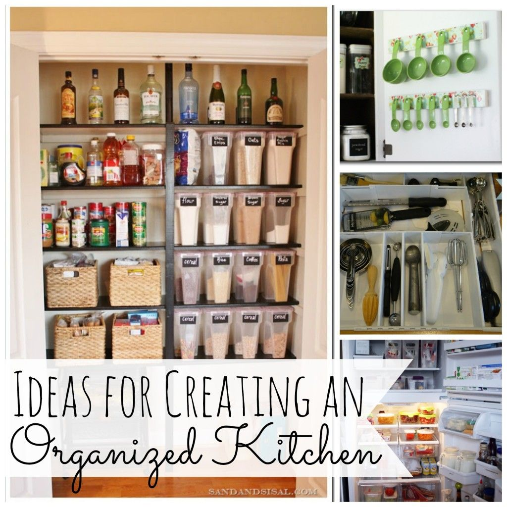 Ideas for kitchen organization - Ideas For Creating An Organized Kitchen