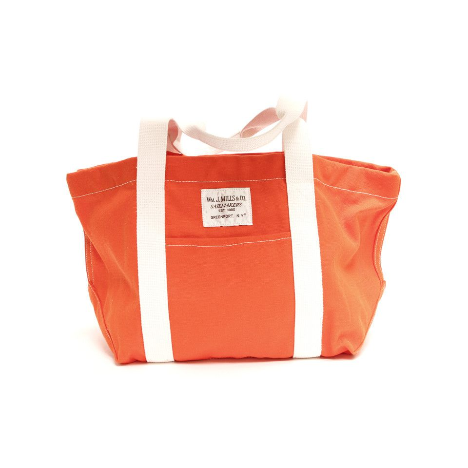Orange Peck Tote