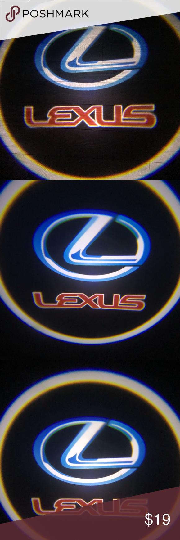 Lexus Cars Logo Wireless Door Lights Led Shadow Lexus Cars Cool Car Pictures Lexus