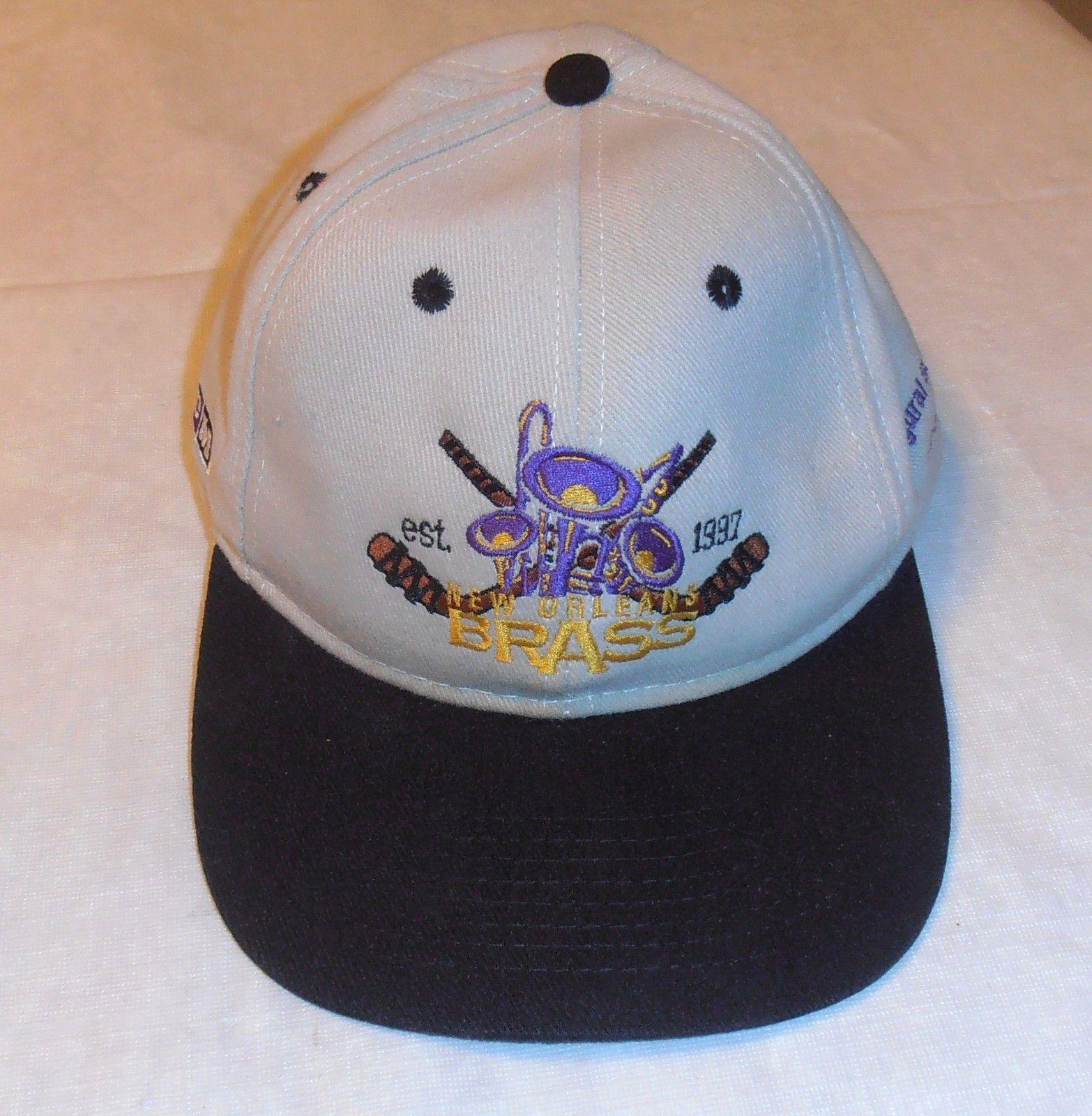 Vintage 1997 98 Inaugural Season New Orleans Brass Hockey Cap Hat   eBay