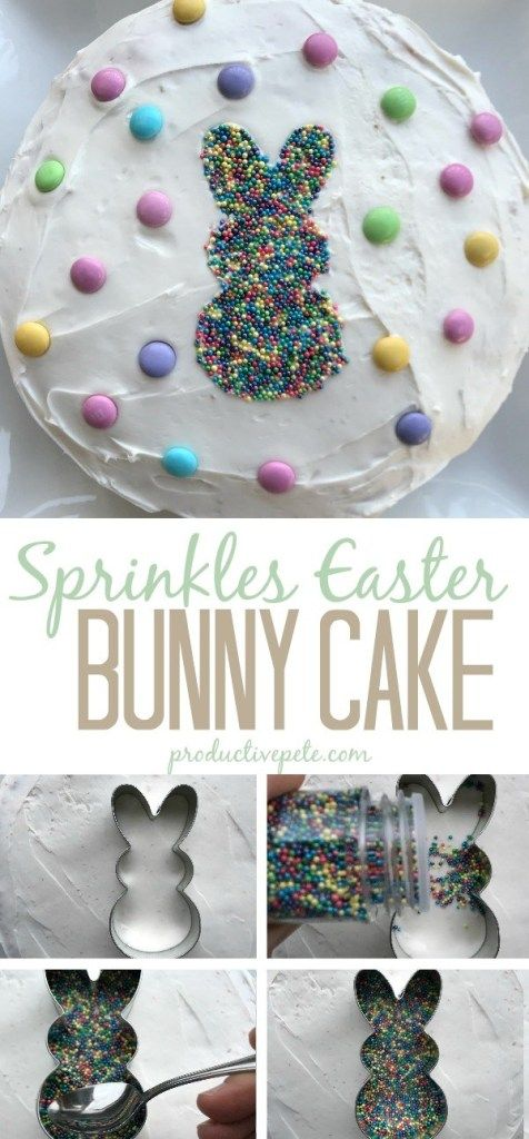 How to make a Sprinkles Easter Bunny Cake