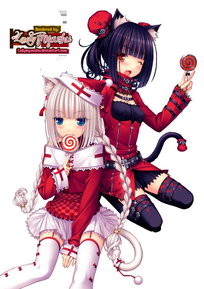 chocola vanilla | Manga kawaii, Manga noël, Anime neko