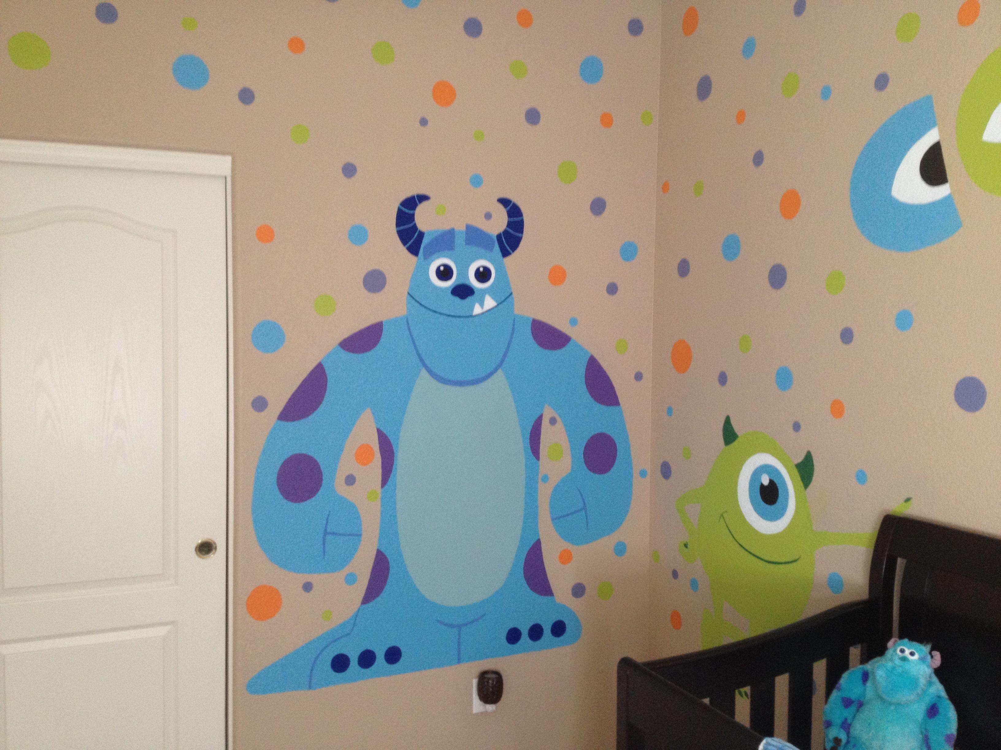 Pin By Jojo Dalton On Monster S Inc Baby Room Disney Baby Rooms Baby Boy Room Decor Monsters Inc Baby