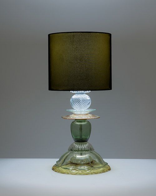 Glass table lamps studio kalff