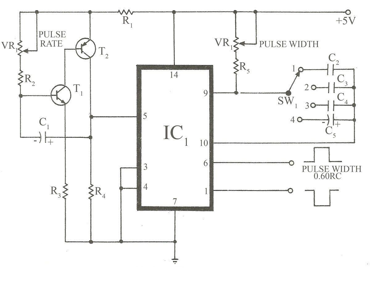 Circuit Diagram Of Pulse Generator
