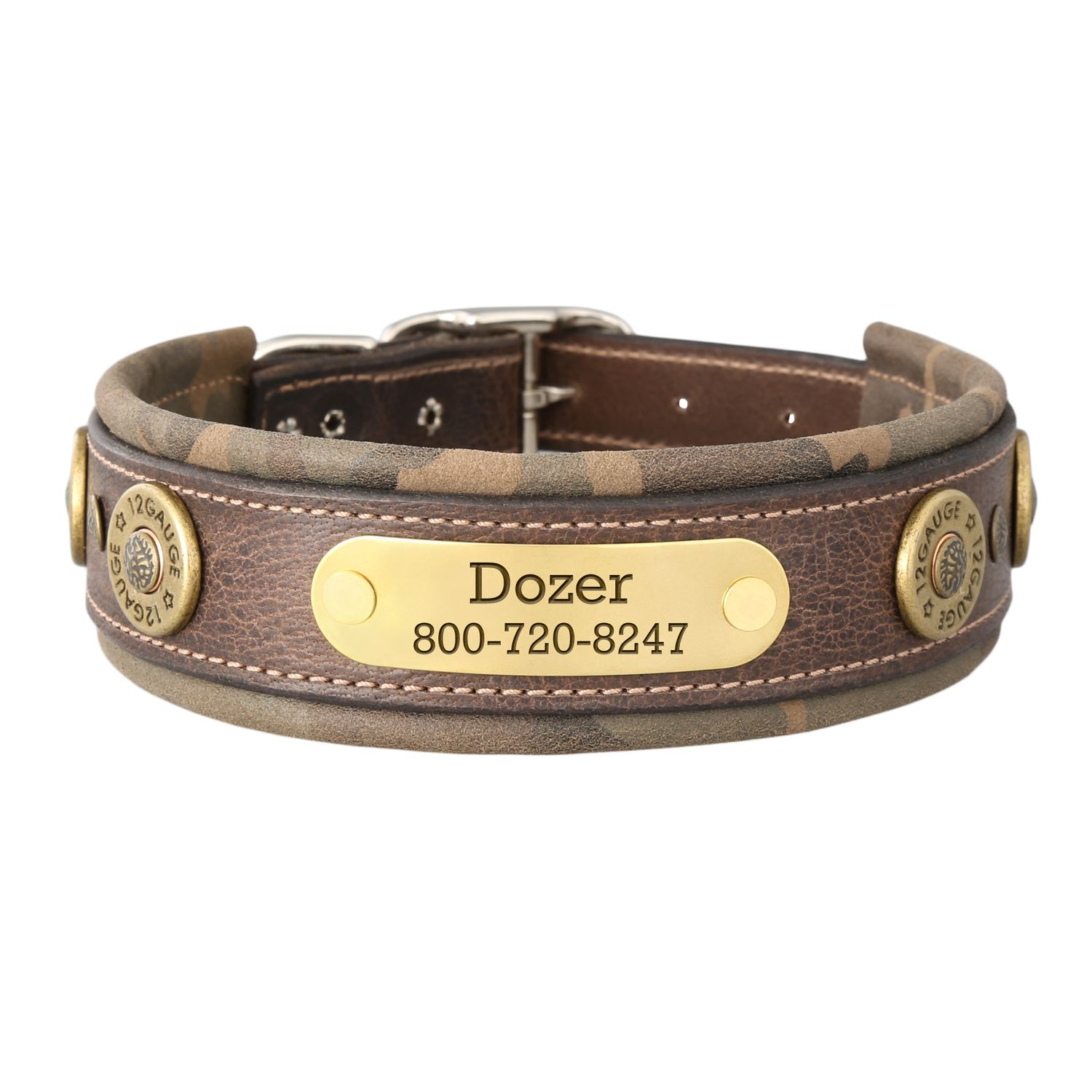 Perfect For The Hunting Dog With Images Leather Dog Collars
