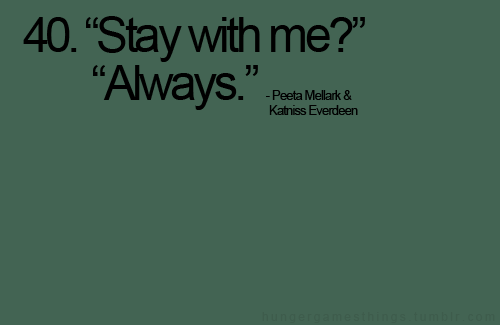 """""""stay With Me?"""" """"always"""""""