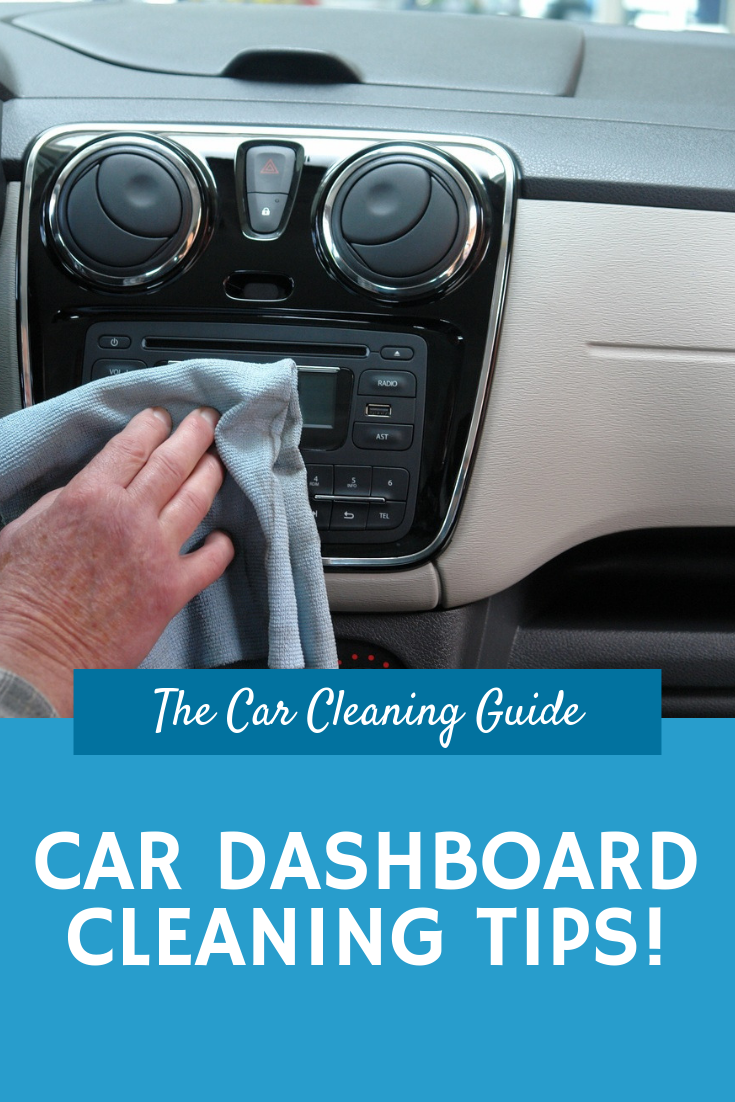 Car Interior Cleaning Tips: Dashboards #cleaningcars