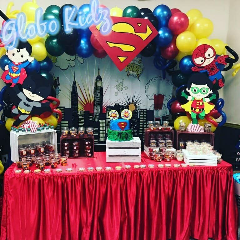 Baby Superheroes Birthday Party Marvel Birthday Party Boys