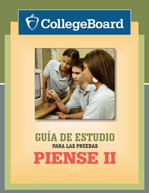 Publicaciones   El College Board de Puerto Rico y América Latina