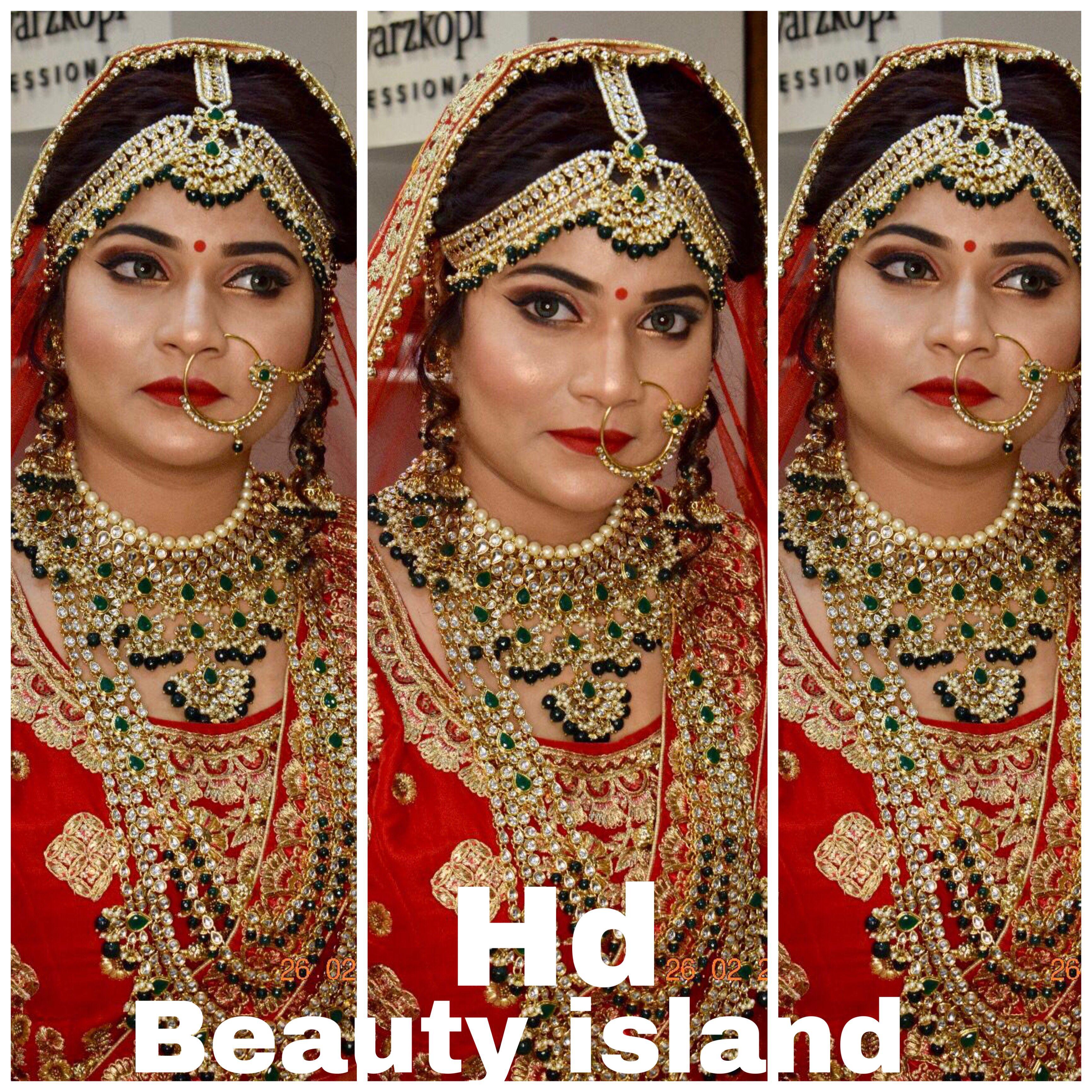 Beauty islandbridal makeup in patnaanupma vatsapatna