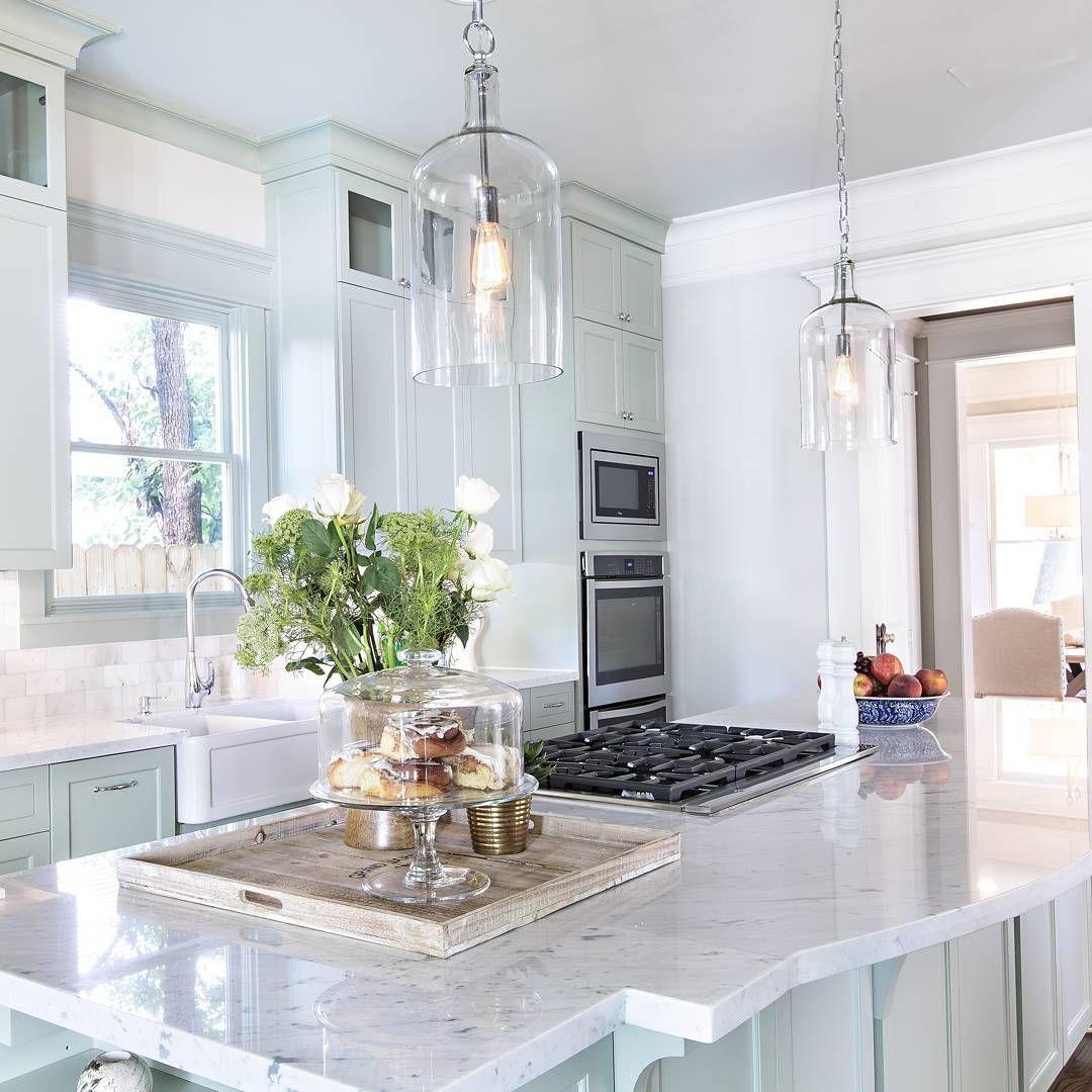 Kitchen Inspo: Fresh and Minty by @jamiehousedesign   Kitchen ...
